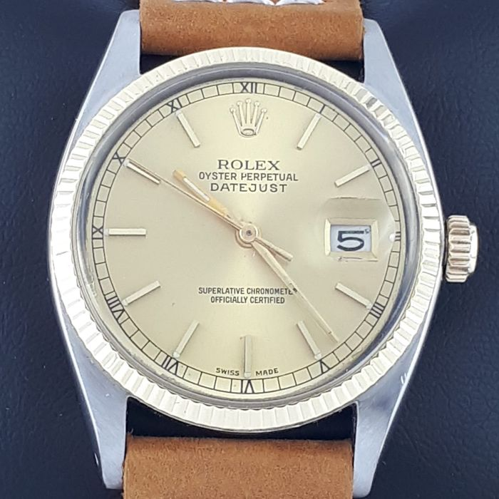 Rolex - Oyster Perpetual Datejust  - Ref: 1601 - Uomo - 1970-1979