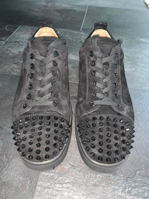 Christian Louboutin - Louis Junior Spikes Sneakers - Size: FR 43.5