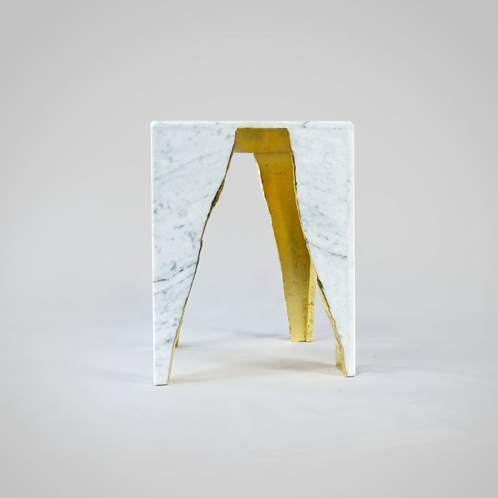 DFlab - Coffee table, Side table - Raw edge