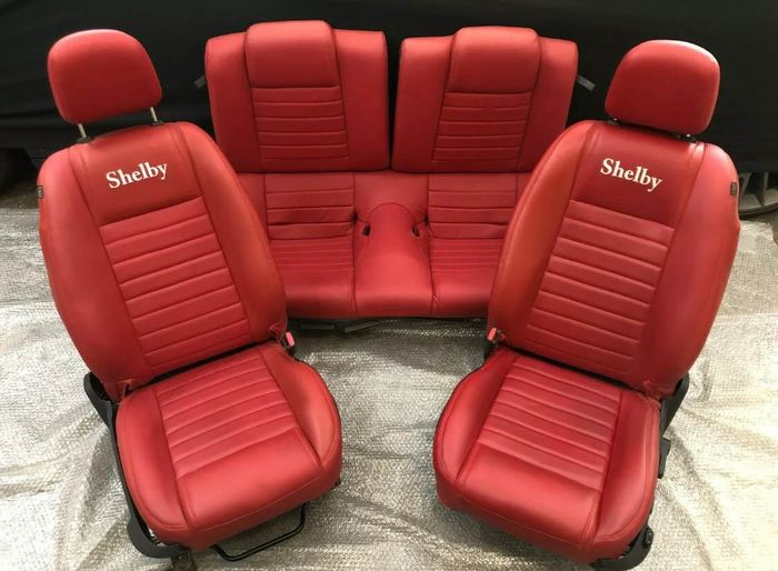 Ford Mustang Shelby Gt Seat, set - Ford Mustang Shelby Gt Siège ensemble  - Ford Mustang - After 2000