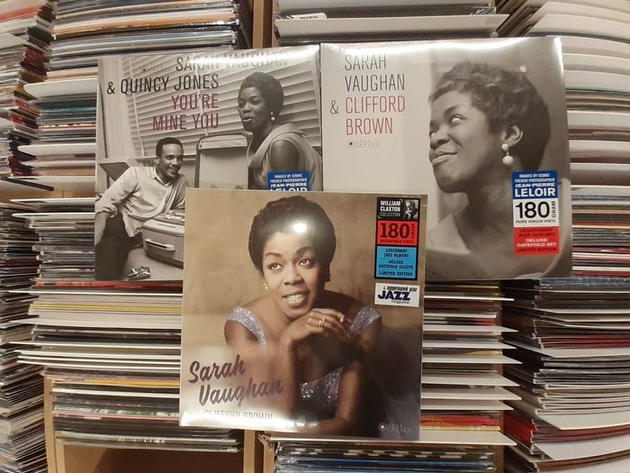 Sarah Vaughan - Three Great Albums!! || & Clifford Brown, with Clifford Brown,  You're Mine You || Mint & Sealed - Multiple titles - LP Album, LP's - 2016/2018
