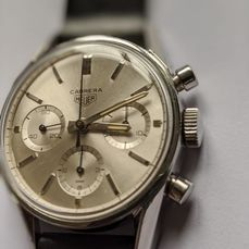 Heuer - Carrera Chronograph  Early 1st execution - Ref. 2447s - Homme - 1960-1969