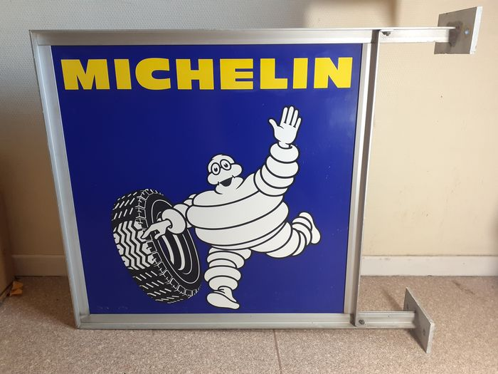 Michelin Plate a support (Double Face) - NO RESERVE - Michelin