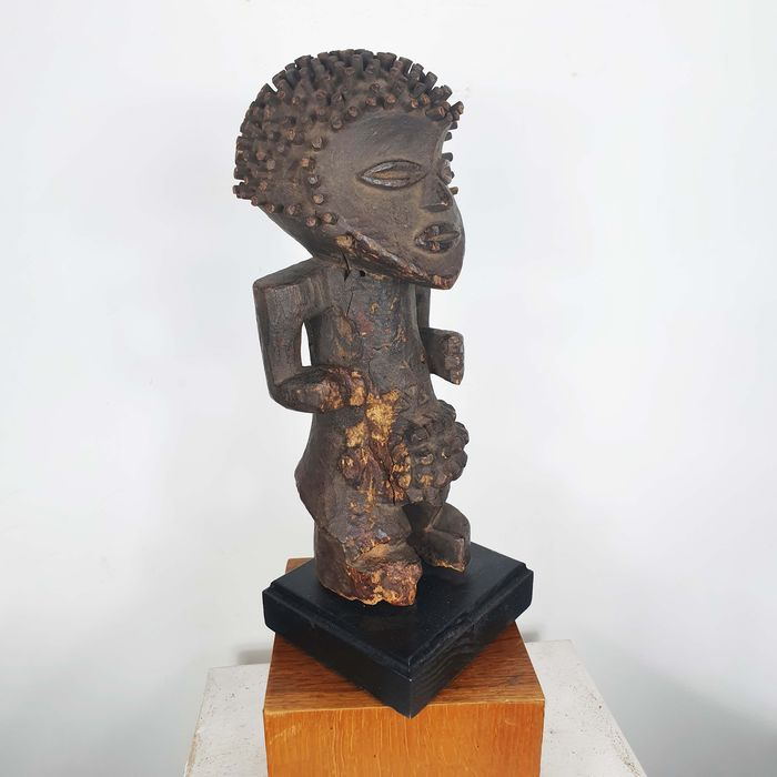 Statue(s) - Wood - Ancienne collection Robert Lemariey (France, Paris) - Mambila - Cameroon