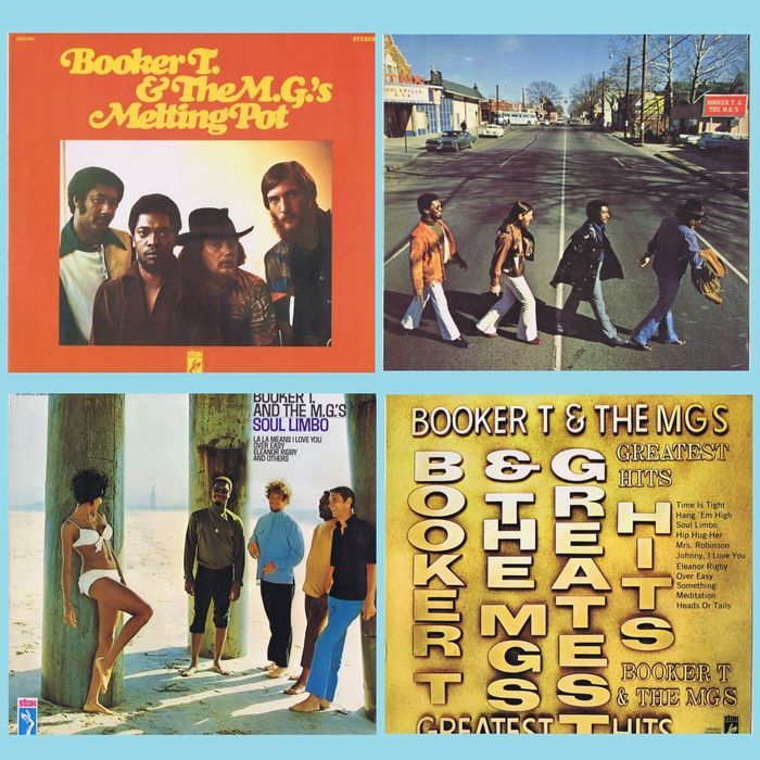 Booker T. and The MG's (Soul, Rhythm & Blues, Funk) - Multiple titles - (Lot of 4 original LPs) - 1968/1971