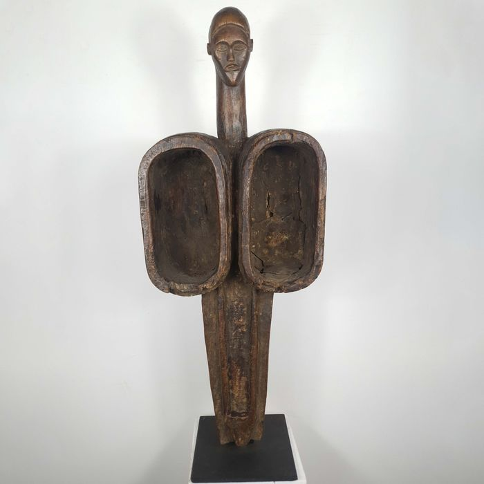 Forge bellows - Wood - Ancienne collection Robert Lemriey (France, Paris) - Luba - Congo