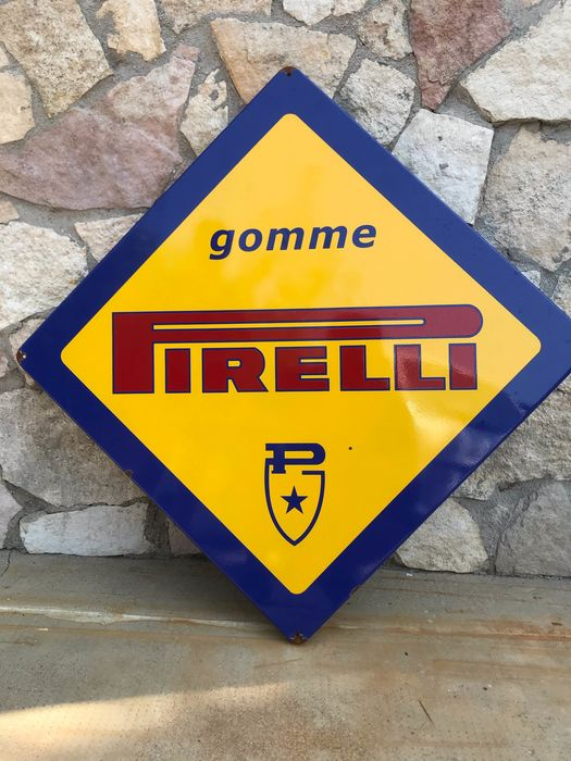 Pirelli advertising sign - Pirelli - 1980-1990