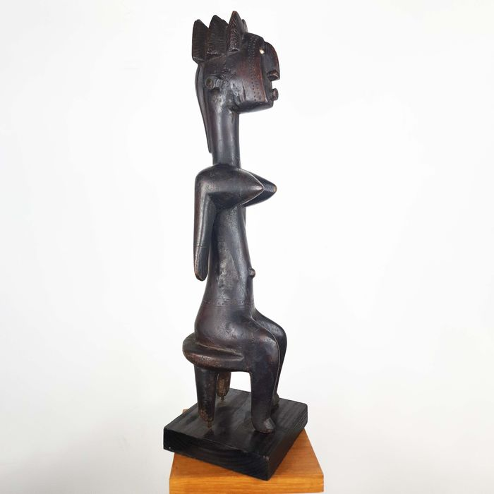 Statue(s) - Wood - Ancienne collection Robert Lemariey (Paris, France) - Bamabara - Mali