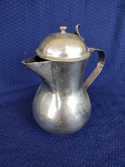 Coffee pot - .800 silver - Italy - Early 19th century