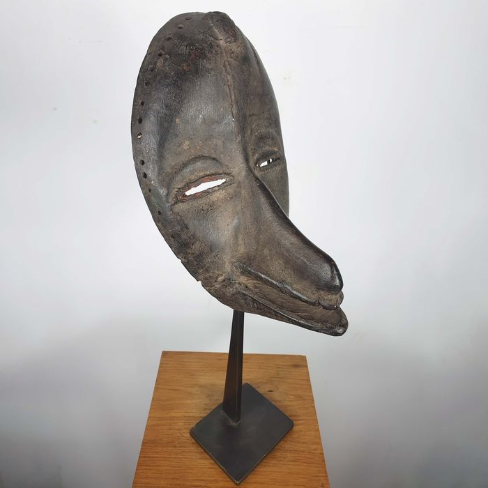 Mask - Wood - Ancienne collection Robert Lemariey (France, Paris) - Dan - Ivory Coast