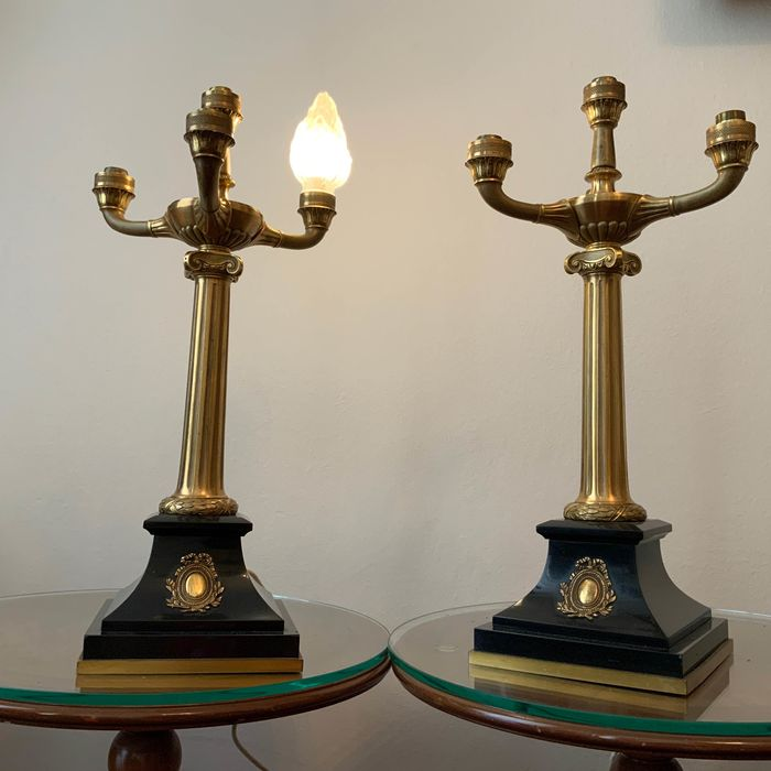Candelabra, Pair of (2) - Empire Style