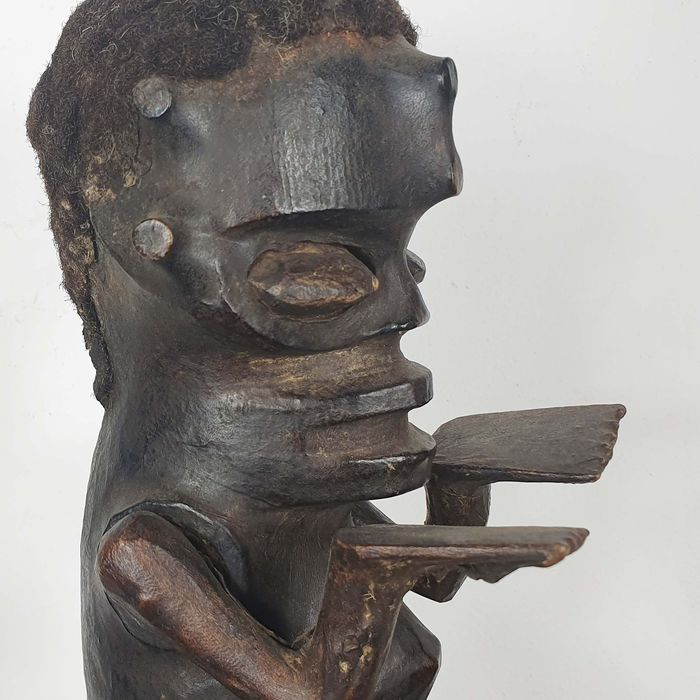 Statue(s) - Wood - Ancienne collection Robert Lemariey (France, Paris) - Ejagham - Nigeria