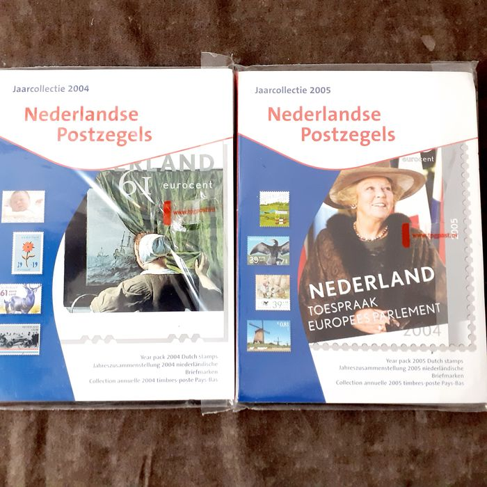 Netherlands 2004/2005 - Stamp year collections