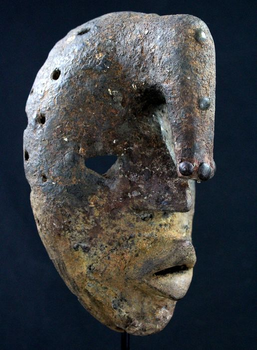 Incredible Fetish Mask - Wood - Dan - Côte d'Ivoire