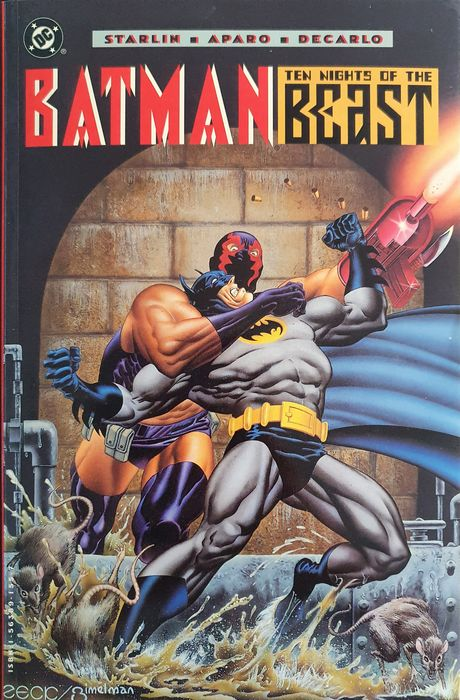 Batman #417 #418 #419 #420 - SIGNED! by cover atist and writer! Batman: Ten Nights of the Beast (Collected) - Livre de poche Trade - EO - (1994)