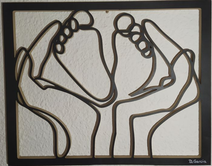 David Garcia - Carved Baby Foot