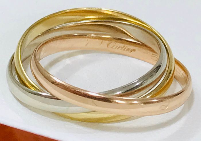 Cartier - 18 kt. Pink gold, White gold, Yellow gold - Ring