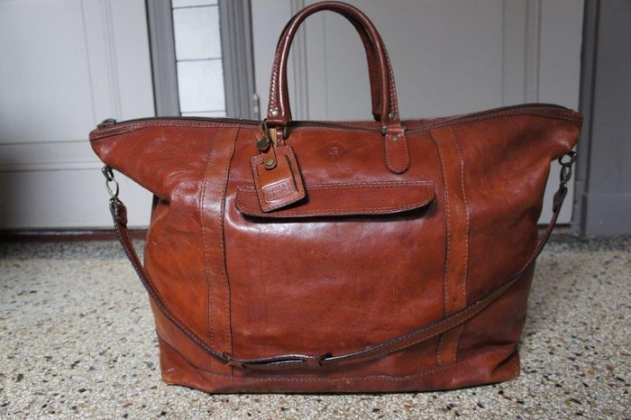 Claudio Ferrici - Extra large size weekend bag - travel bag