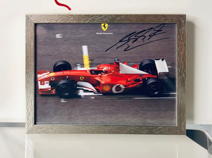 Ferrari - Formula One - Michael Schumacher - 2002 - fan card