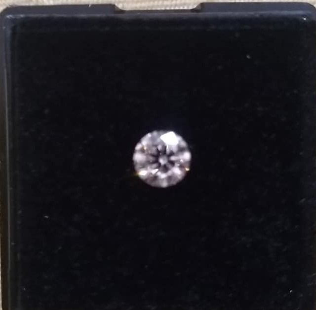 1 pcs Diamant - 0.30 ct - Brillant - D (incolore) - IF (pas d'inclusions)