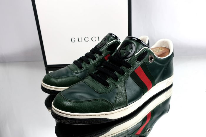 Gucci - Royal GG Baskets - Taille: UK7 / Maat 41
