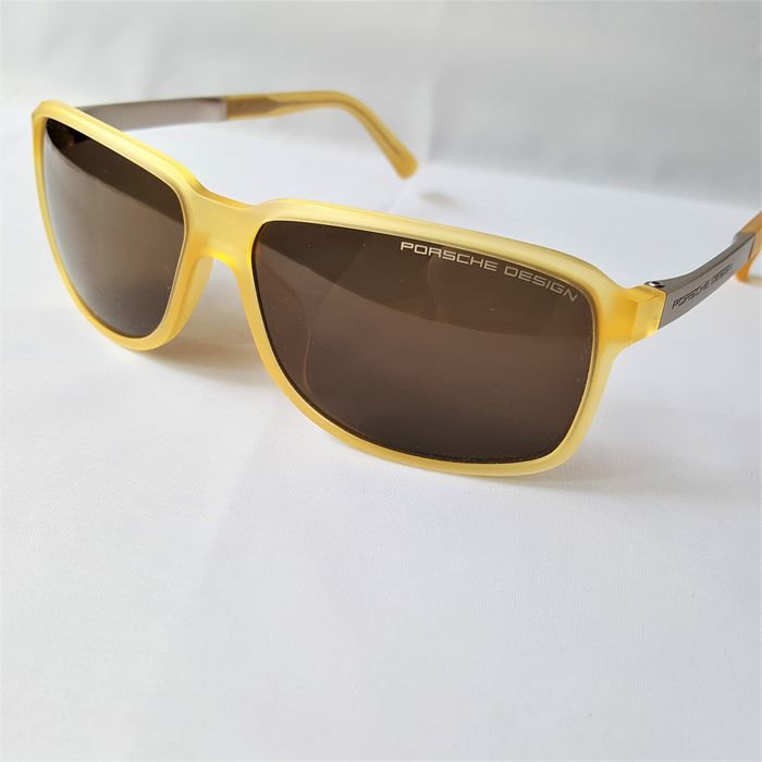 Porsche Design - Titanium Yellow Gold RXP Strong Handmade - 2020 - New - Made in Italy Sunglasses