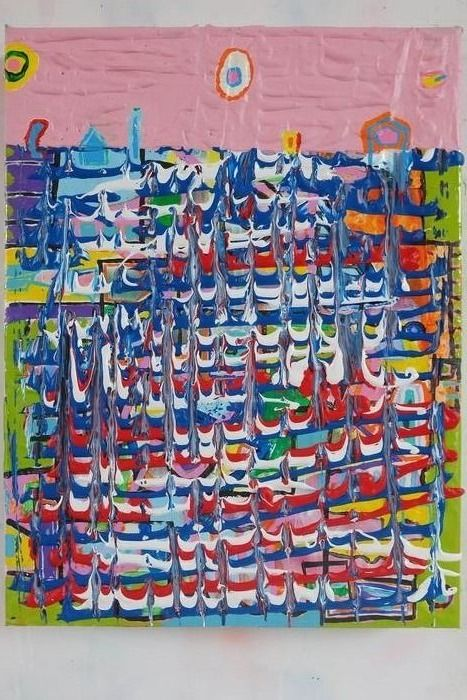 Fred Michiels - One has to paint time #1