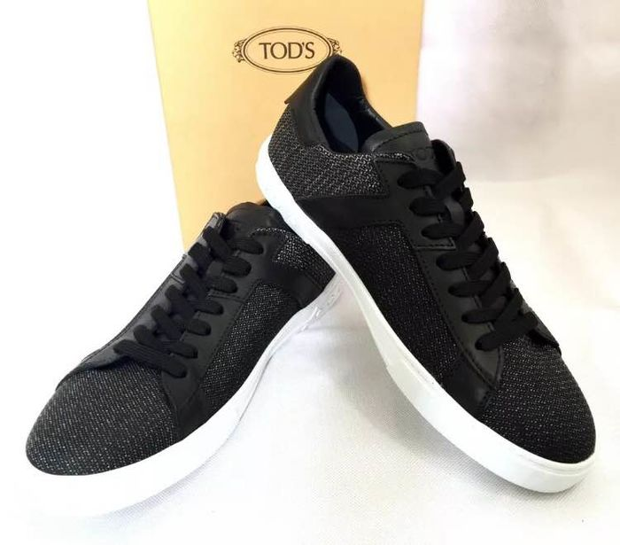 Tod's - Nuovo All. Cassetta Sportivo Legger EES Nero Sneakers - Size: Size 8,5 Gr. 42,5