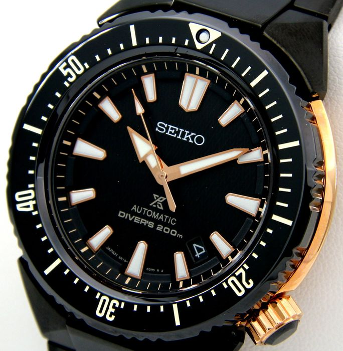 Seiko - Prospex Transocean Automatic Diver's 200M - MADE IN JAPAN - - Men - 2011-present