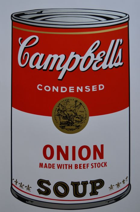 Andy Warhol (after) - Campbell's Soup I Onion