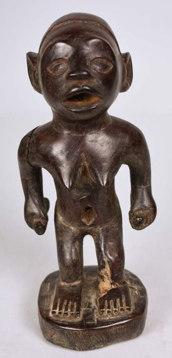 Fish figure - Wood - Yombe - DR Congo