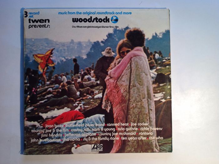 Woodstock - Woodstock - music from the original soundtrack and more - Album 3xLP (triplo) - 1970/1970
