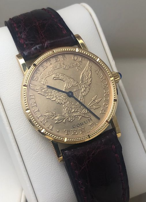 Corum - Coin Watch Ten Dollars 24K - Donna - 2011-presente