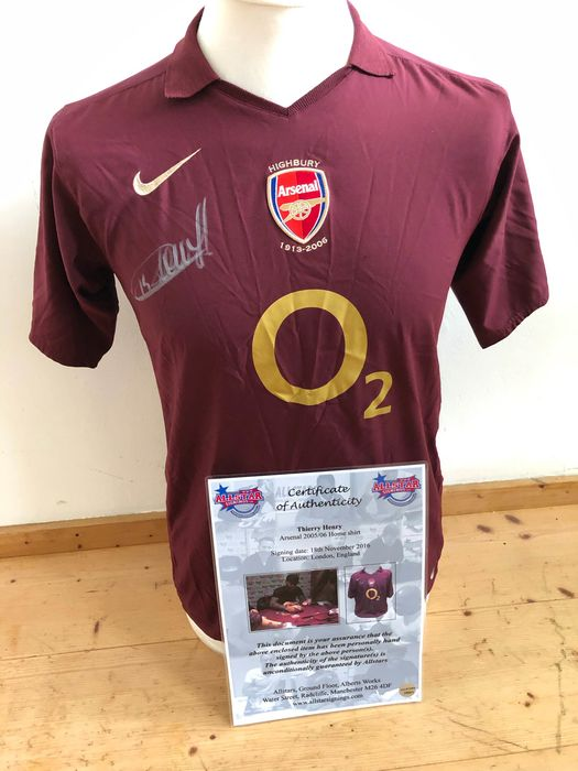 Arsenal - Premier League - Thierry Henry  - 2006 - Jersey