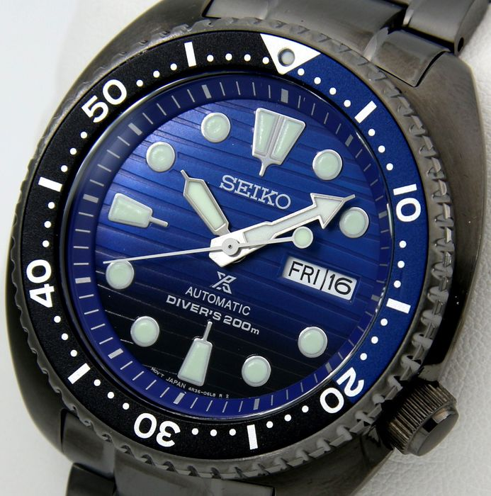 "Seiko - Turtle Automatic Diver's 200m  - SPECIAL EDITION - ""NO RESERVE PRICE"" - SRPD11 - Men - 2019"