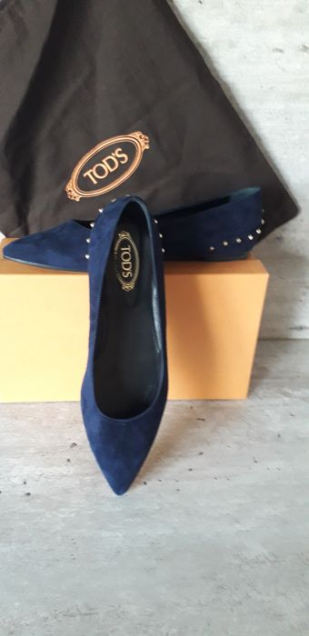 Tod's - Pointed Toe Ballerina shoes - Size: FR 39.5, IT 39