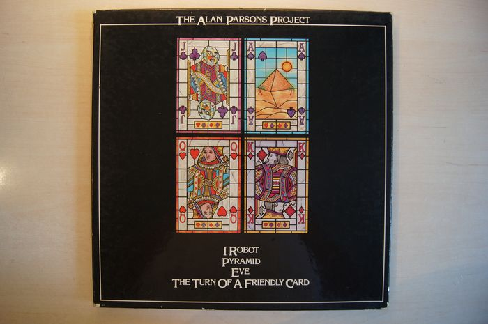 THE ALAN PARSONS PROJECT - Multiple titles - Box set, LP's - 1977/1989