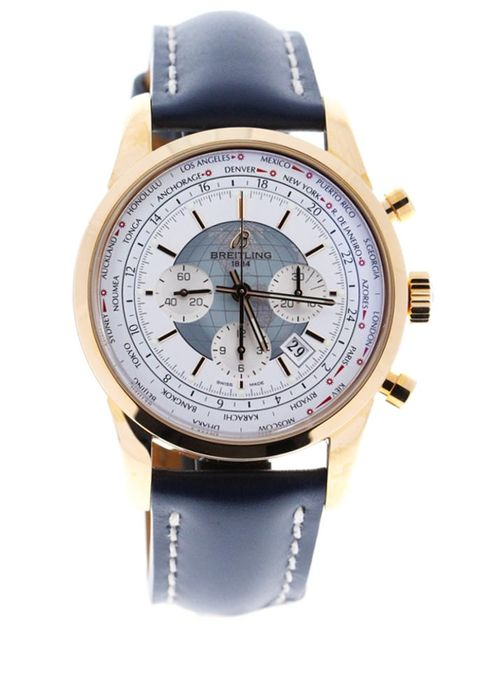 Breitling - Transocean Chronograph Unitime 18kt Pink Gold - RB0510U0/A733 - Homme - 2020
