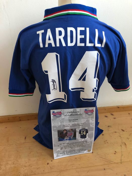 Italy - Football World Championships - Marco Tardelli - 1982 - Jersey