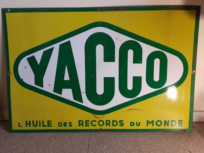 YACCO Plate (Double Face) - NO RESERVE - YACCO - 1950-1960