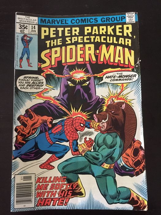 Spider-Man - Marvel Comics Group - Softcover - First edition - (1977)