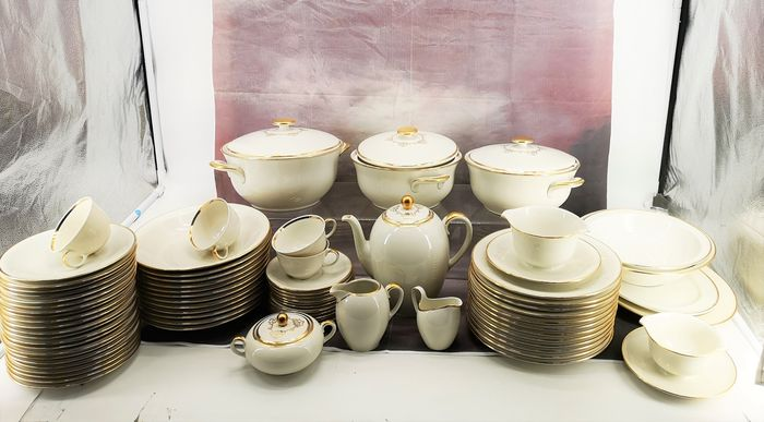 Fürstenberg - Coffee and dinnerware (83) - Art Deco - Porcelain