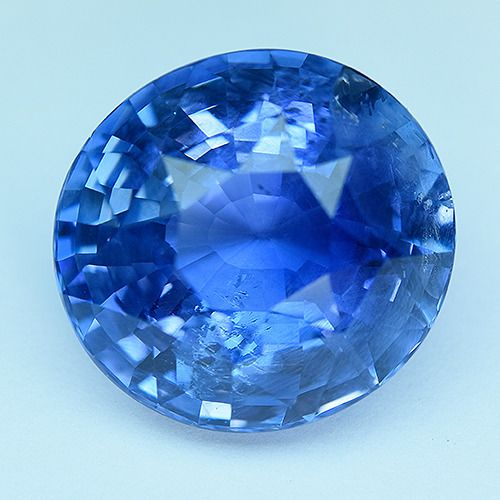 1 pcs Blu Zaffiro - 15.32 ct