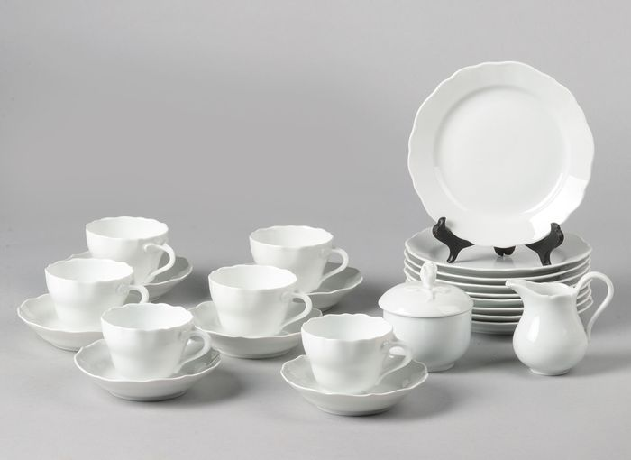 Hutschenreuther - Tea set - Neoclassical Style - Porcelain