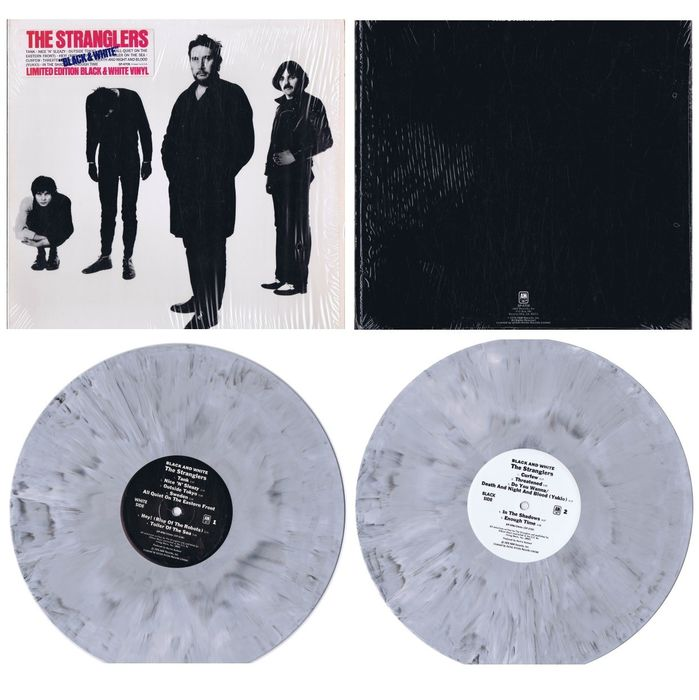 The Stranglers (New Wave, Punk, Synth-pop)  - Black and White - LP-album (beperkte editie) - 1978/1978