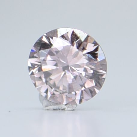 1 pcs Diamond - 0.23 ct - Brilliant, Round - Natural Fancy Pink-Brown - SI1, GIA certified * No Reserve Price! *