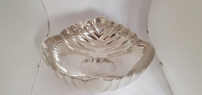 Bowl (1) - .800 silver - Italy - Late 20th century