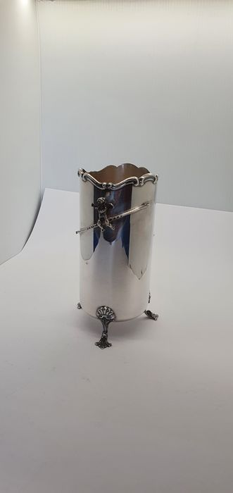 breadstick holder (1) - .800 silver - Italy - 1975-2000