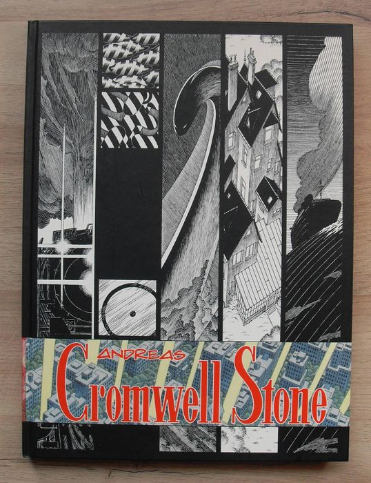 Cromwell Stone Leviathan Edition door Andreas - Lovecraftian Horror in de traditie van Berni Wrightson - Hardcover - First edition - (2007)