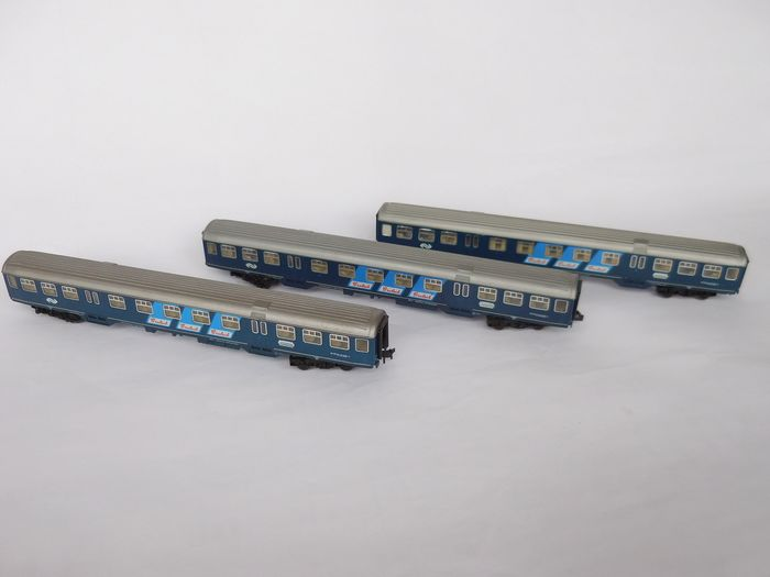 Fleischmann N - 8156 - Passenger carriage - Plan W coaches - NS